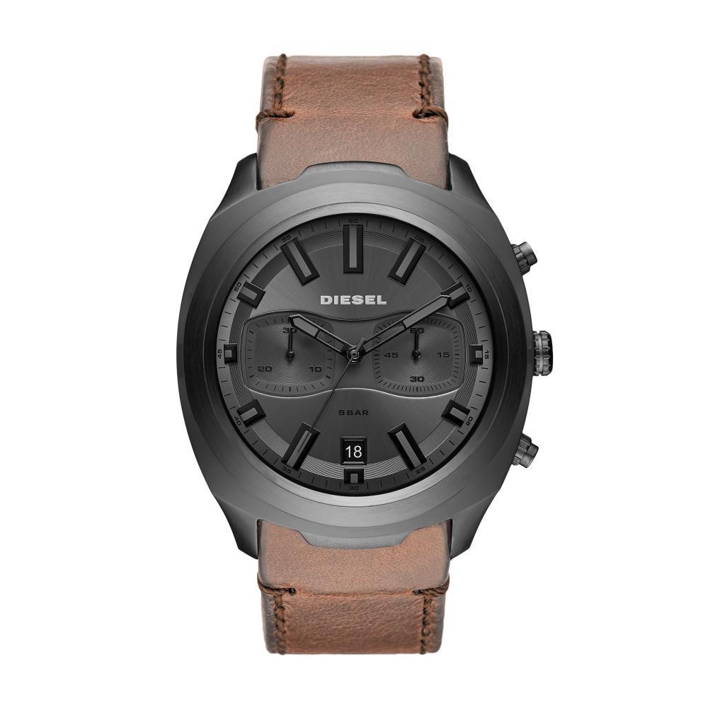Relógio Masculino Diesel DZ4491/0MI 48mm Couro Marrom