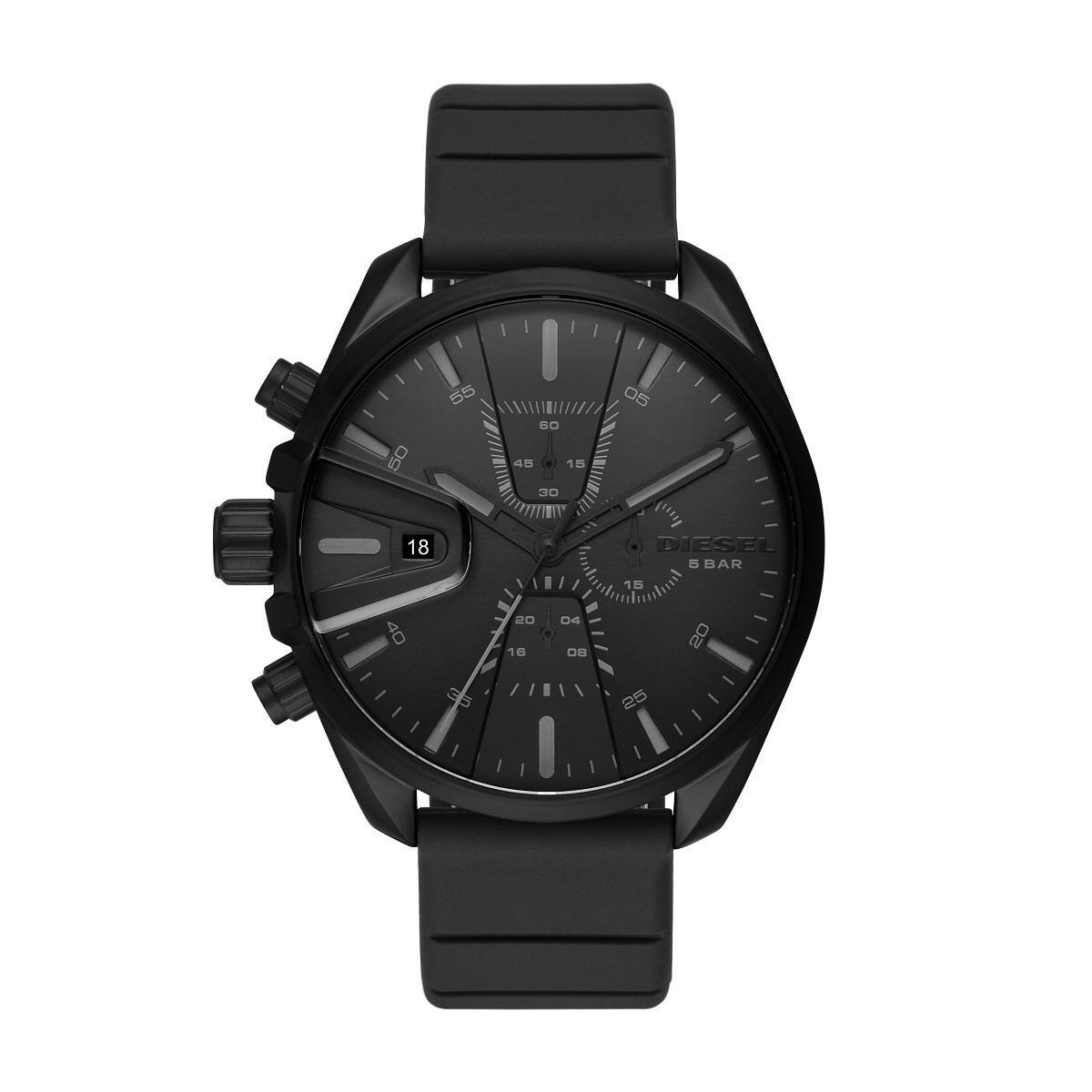 Relógio Masculino Diesel DZ4507/8PN 47mm Silicone Preto