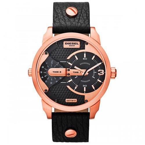 Relógio Masculino Diesel DZ7317/2PN 46mm Rosê