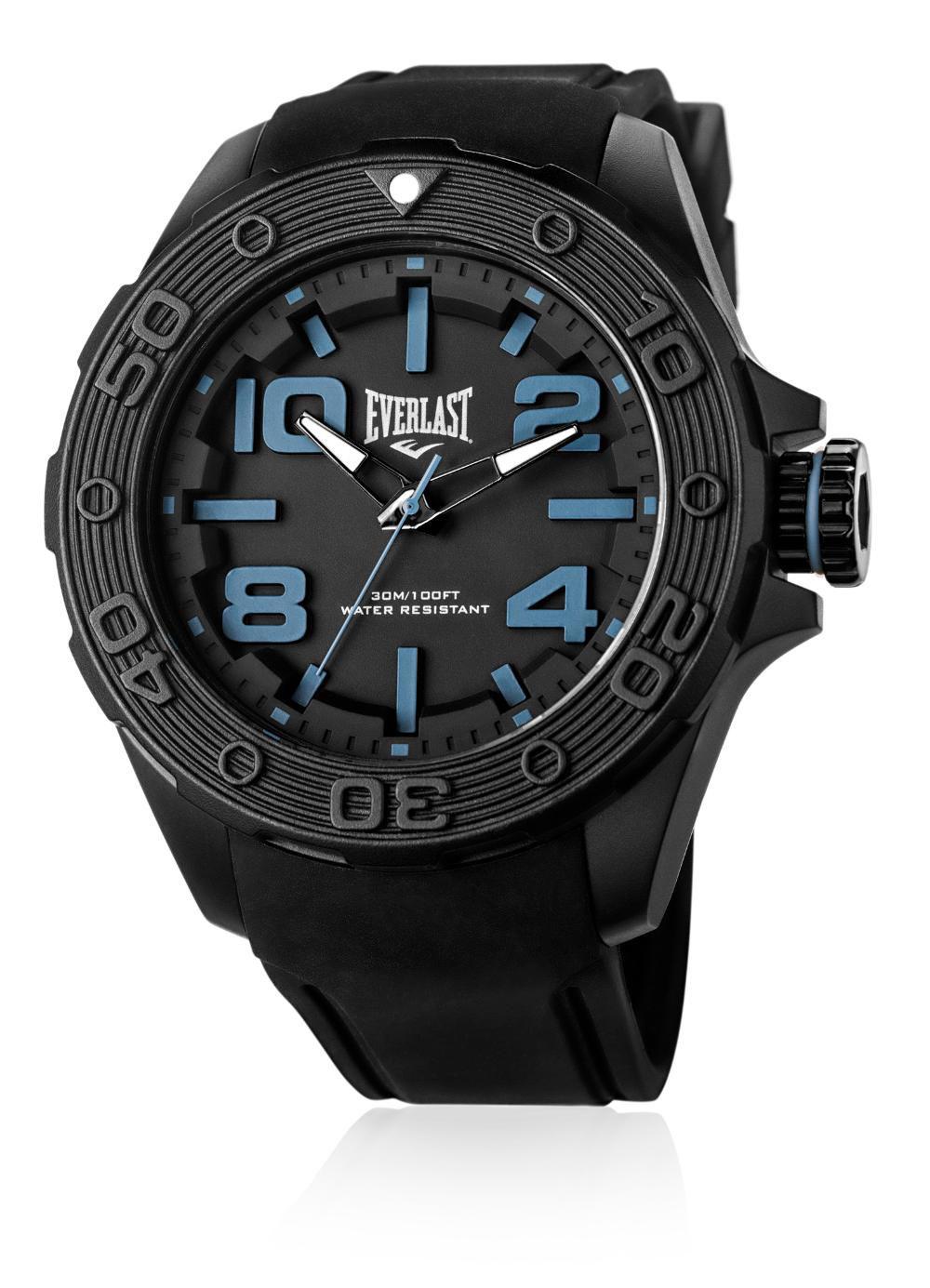 Relógio Masculino Everlast E620 53mm Silicone Preto