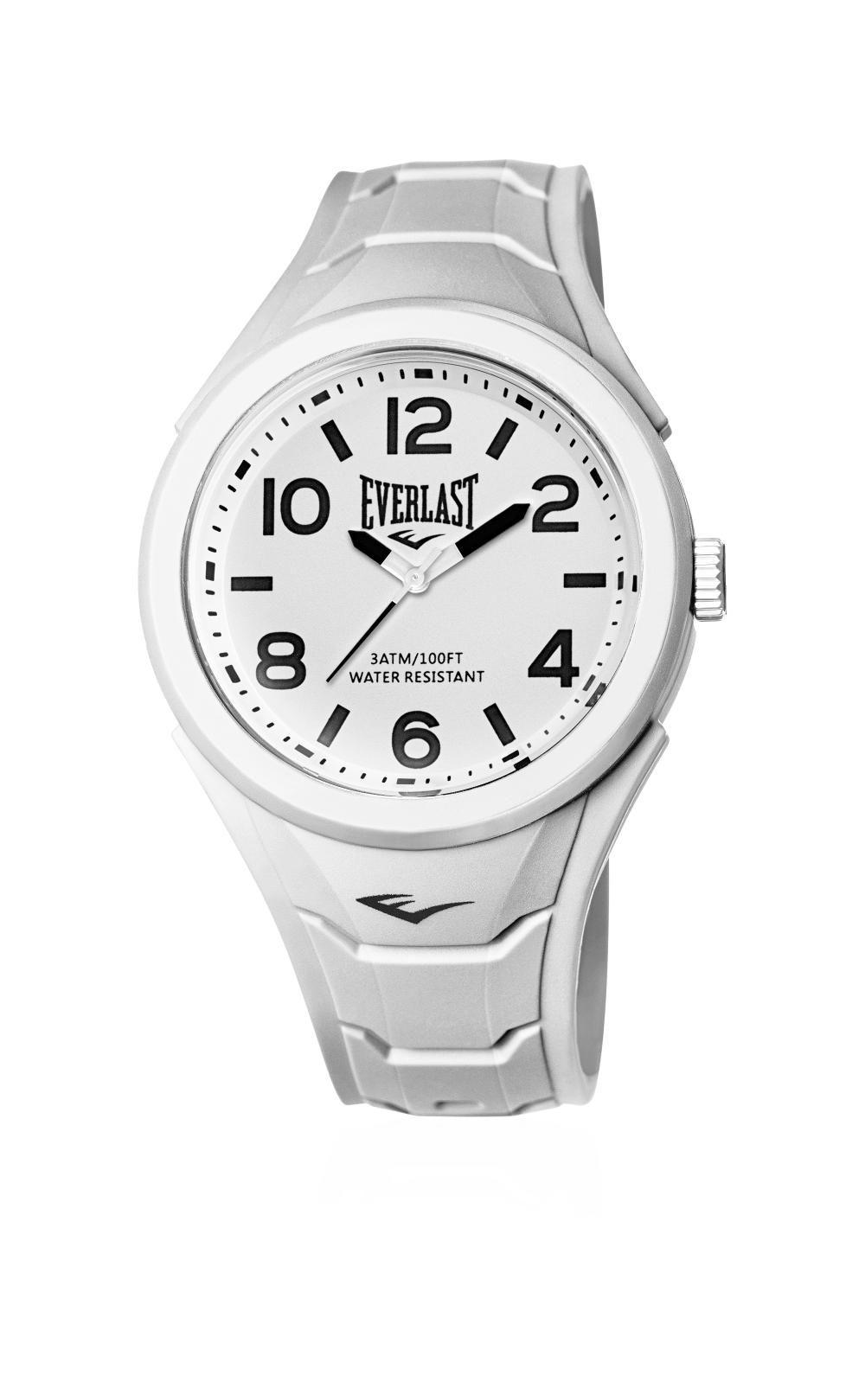 Relógio Masculino Everlast Esporte E707 45mm Silicone Branco