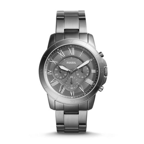 Relógio Masculino Fossil FS5256/1CN 44mm Fumê