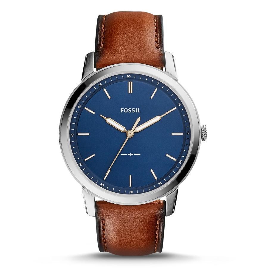 Relógio Masculino Fossil FS5304/0AN 44mm Couro Marrom