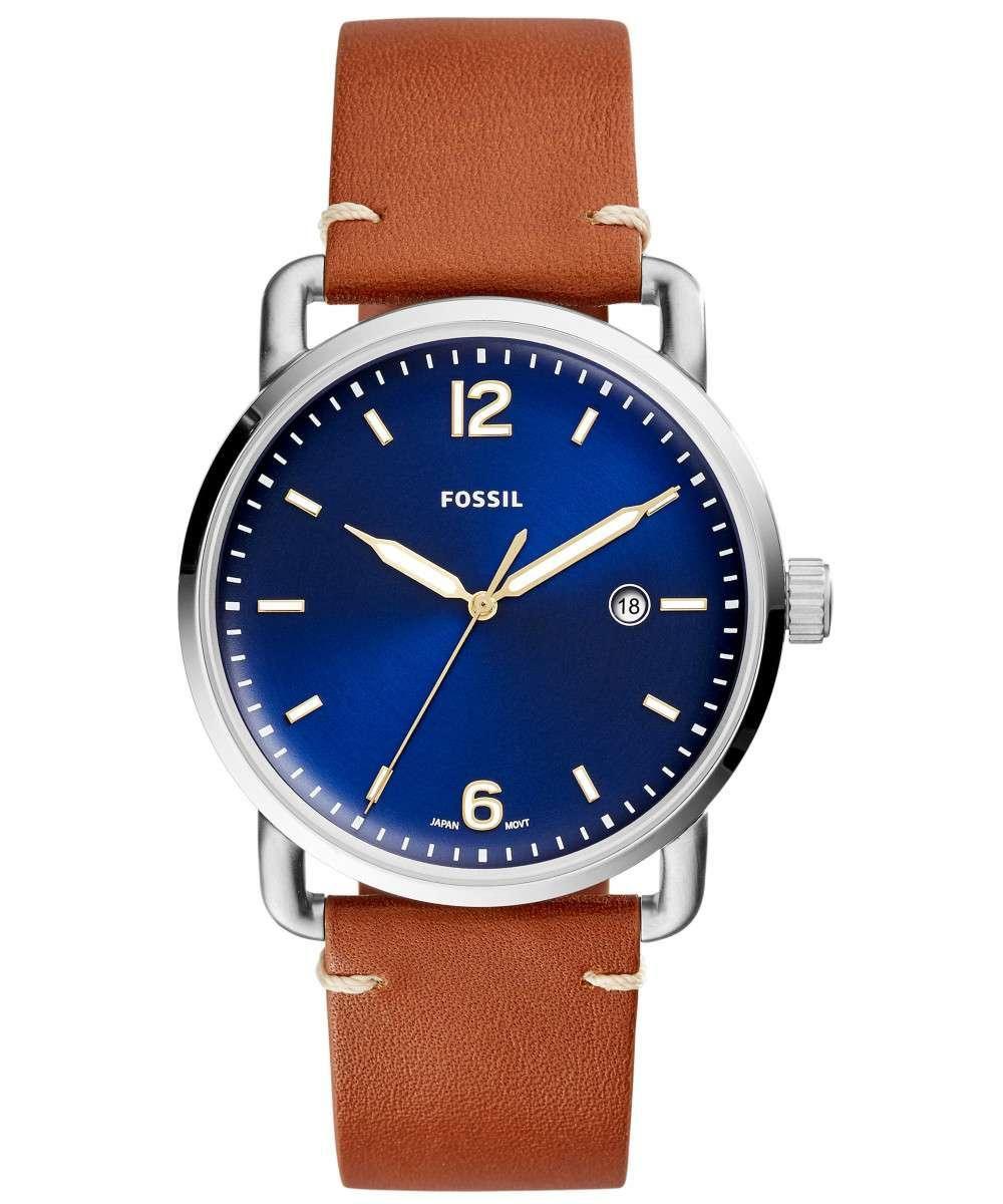 23d1e85ae76 Relógio Masculino Fossil FS5325 2AN 42mm Couro Marrom