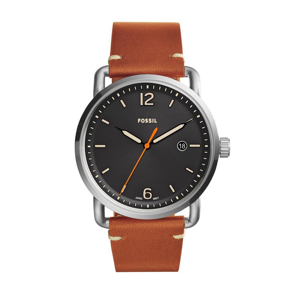 Relógio Masculino Fossil FS5328/0PN 42mm Couro Marrom