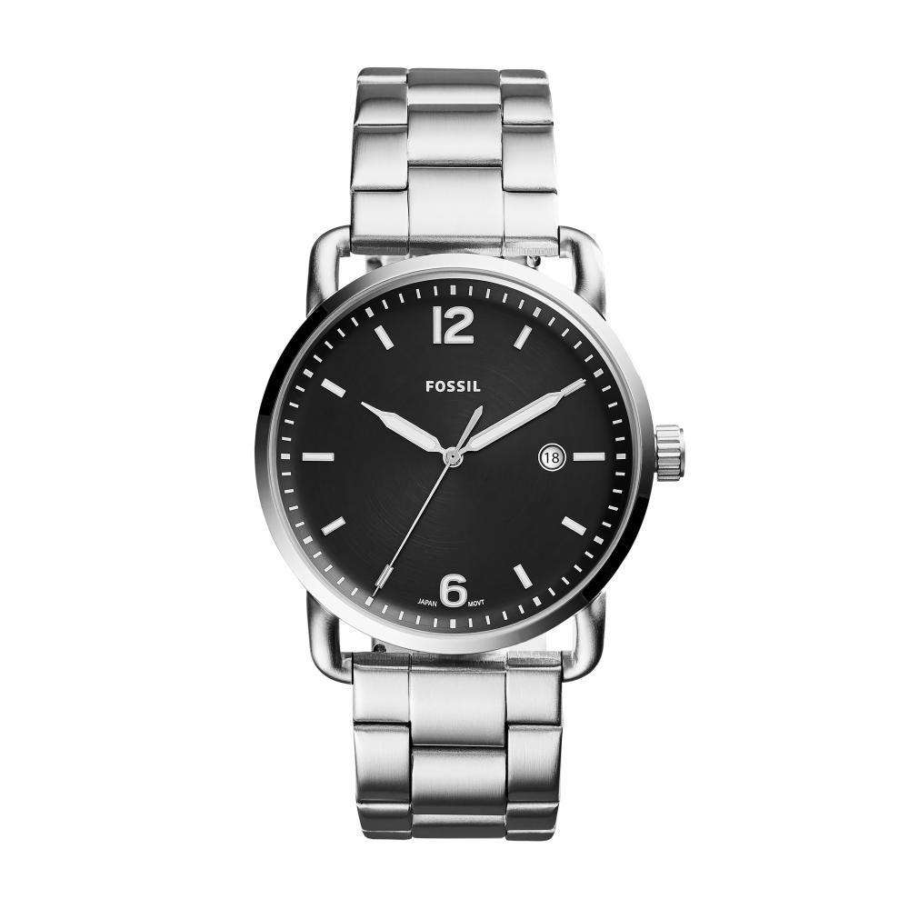 Relógio Masculino Fossil FS5391/1KN 42mm Aço Prata