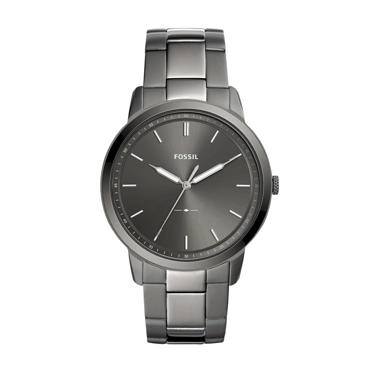 Relógio Masculino Fossil FS5459/1CN 44mm Aço Grafite