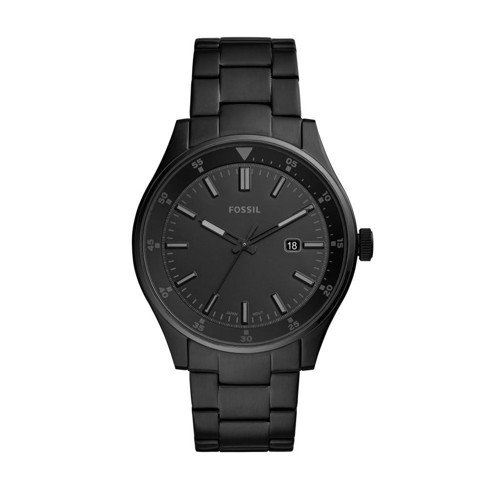 Relógio Masculino Fossil FS5531/1PN 44mm Aço Preto