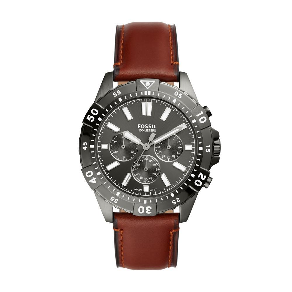 Relógio Masculino Fossil FS5770/0FN 35mm Couro Marrom