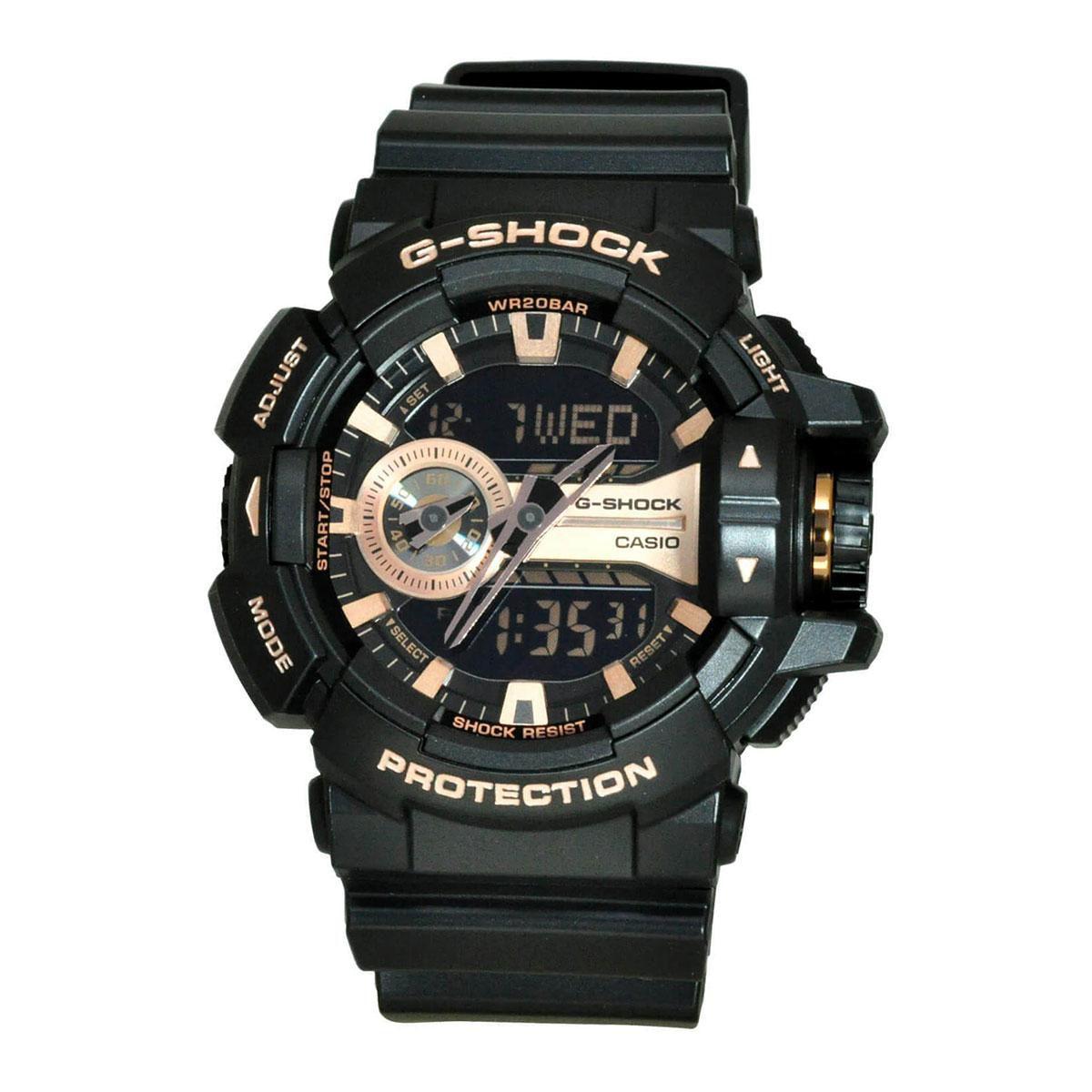 Relógio Masculino G-Shock GA-400GB-1A4DR Pulseira Preta