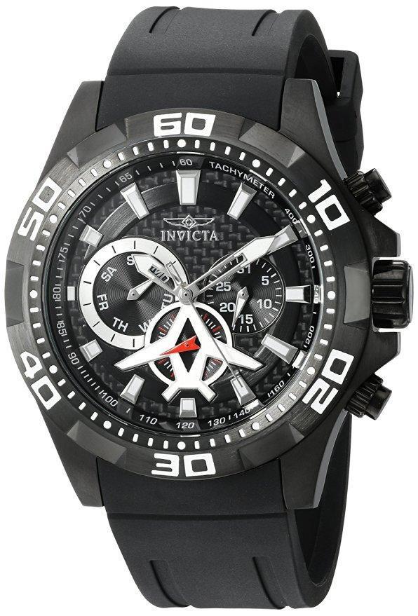 Relógio Masculino Invicta 21741 Aviator 48mm Preto
