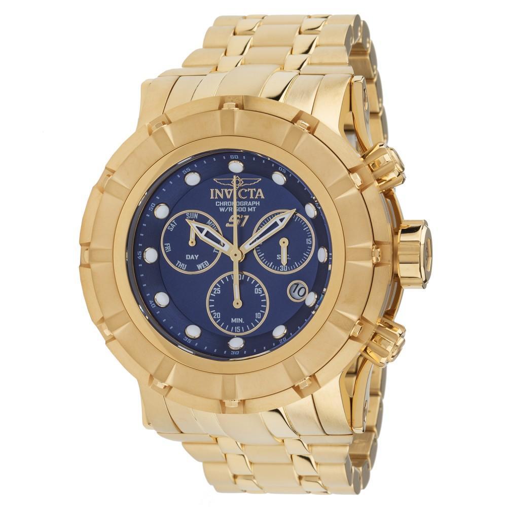Relógio Masculino Invicta 23955 54mm Aço Dourado
