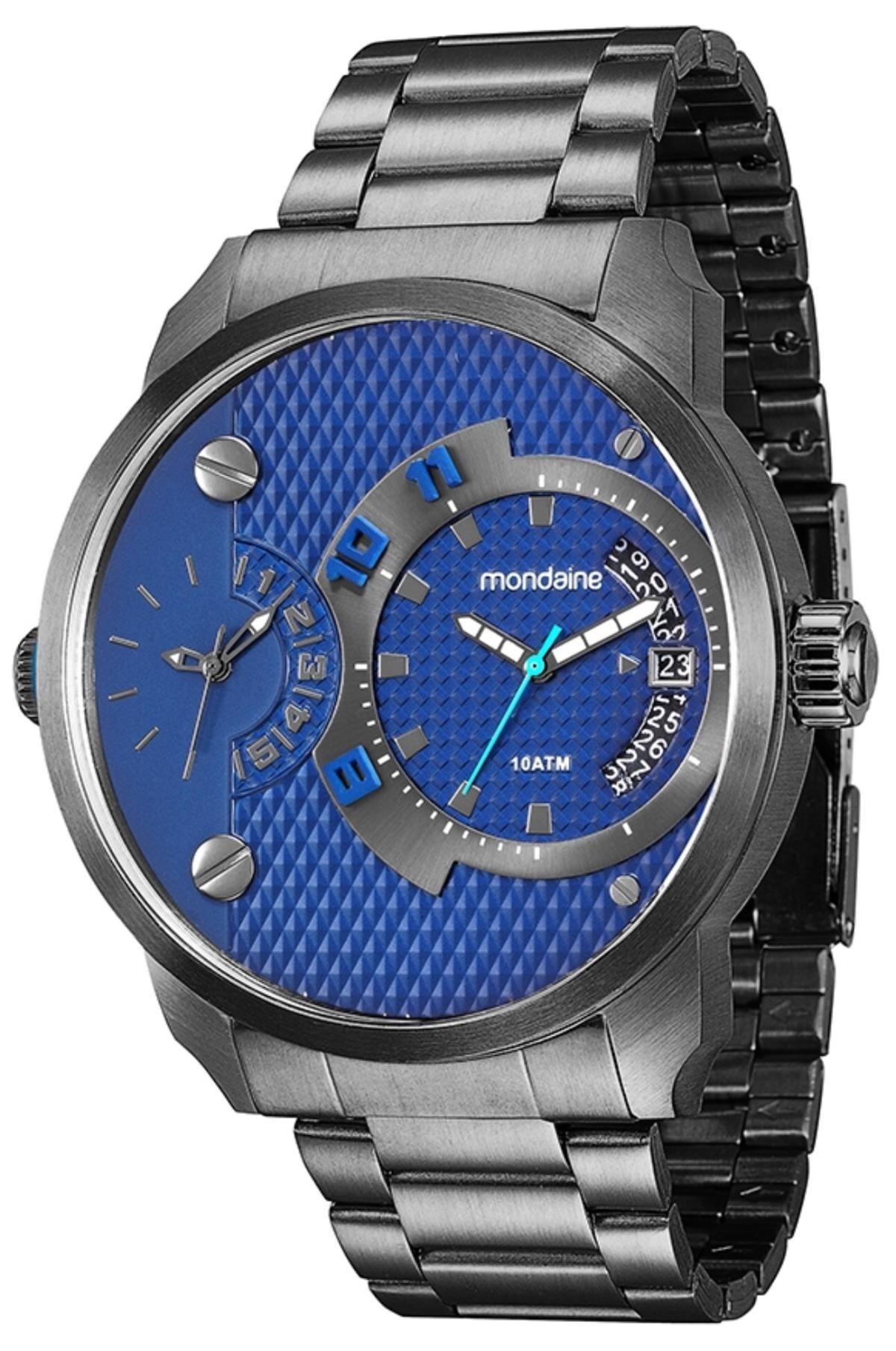 Relógio Masculino Mondaine 78527GPMVSA4 52mm Aço Grafite