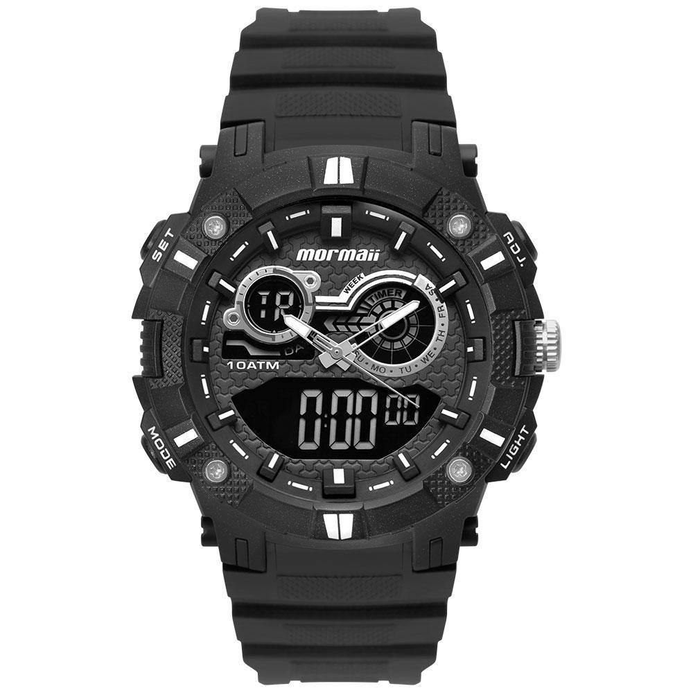 Relógio Masculino Mormaii Acqua MOAD3781AB/8P 54mm Borracha Preto