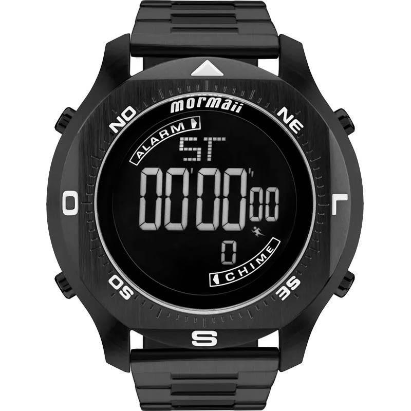Relógio Masculino Mormaii MO11273B/4P Digital Preto