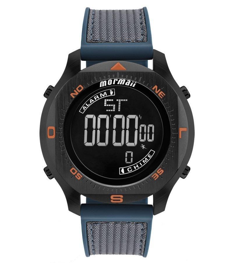 Relógio Masculino Mormaii MO11273E/8P 51mm Digital Silicone Verde