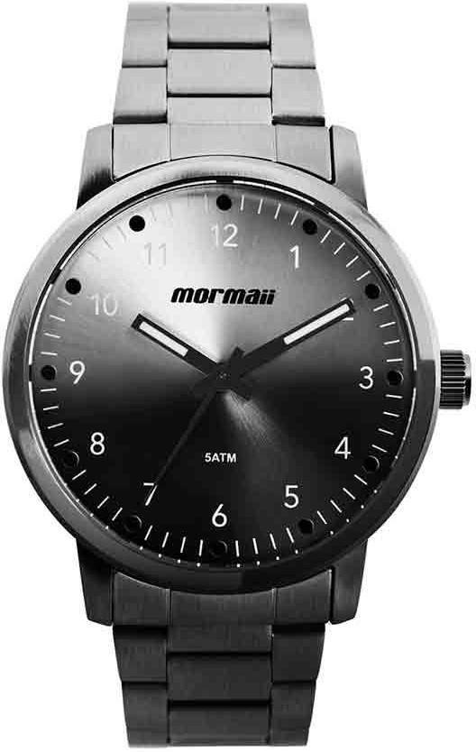 Relógio Masculino Mormaii MO2035JD/4P Aço Grafite