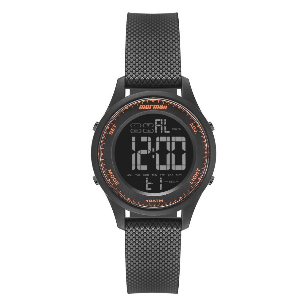 Relógio Masculino Mormaii MO6201AA/8L 40mm Borracha Preto