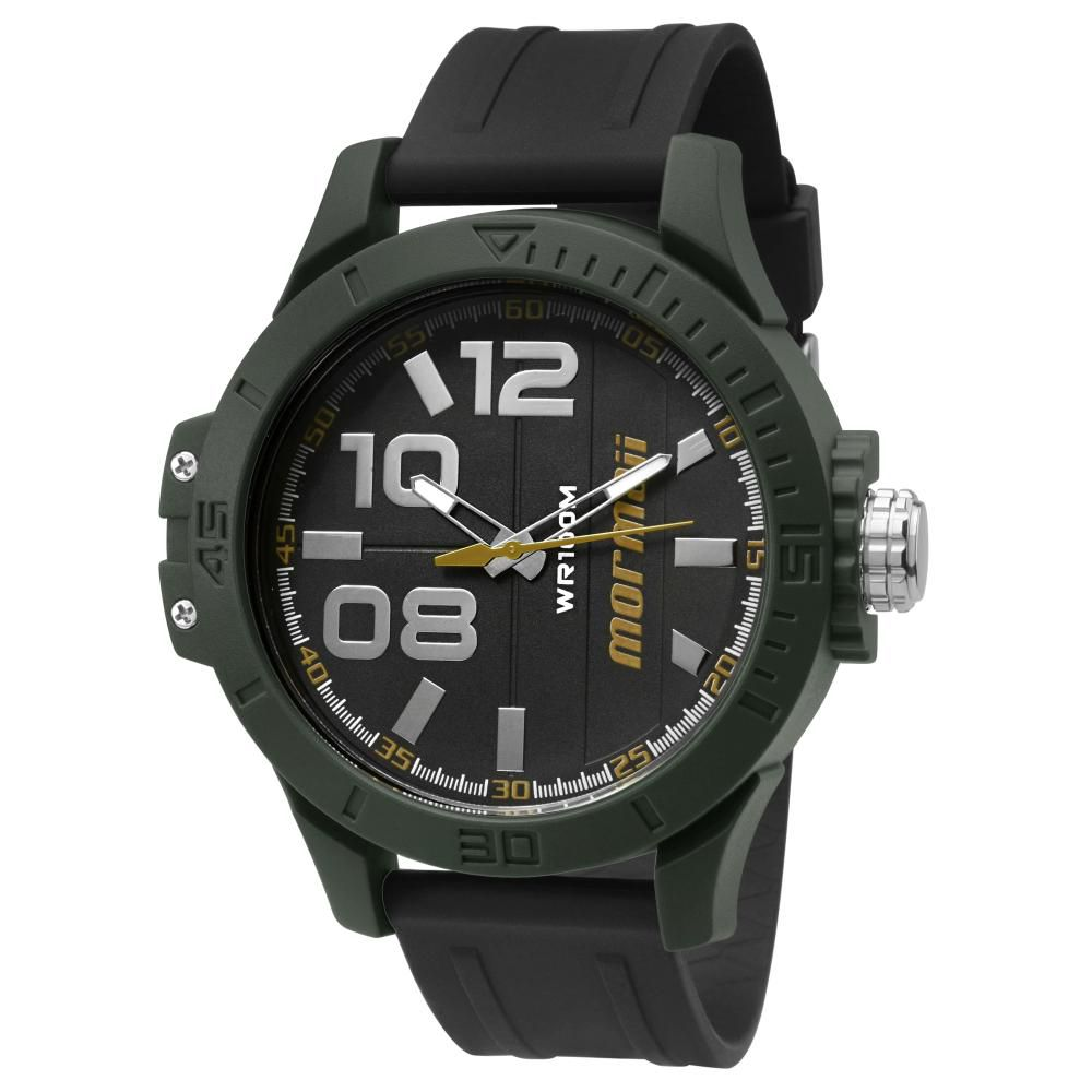 Relógio Masculino Mormaii Wave MO2035ID/8Y 50mm Borracha Preta