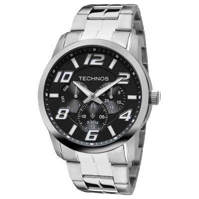 Relógio Masculino Technos 6P29AFT/1P 47mm Racer Prata