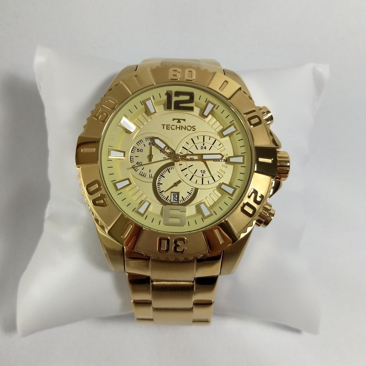 Relógio Masculino Technos Classic Legacy OS20IB/4X 53mm Dourado