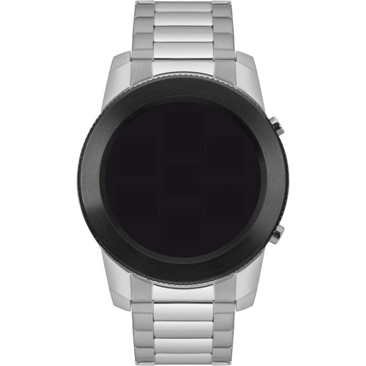 Relógio Masculino Technos Connect Smartwatch M1AC/5P Aço Prata