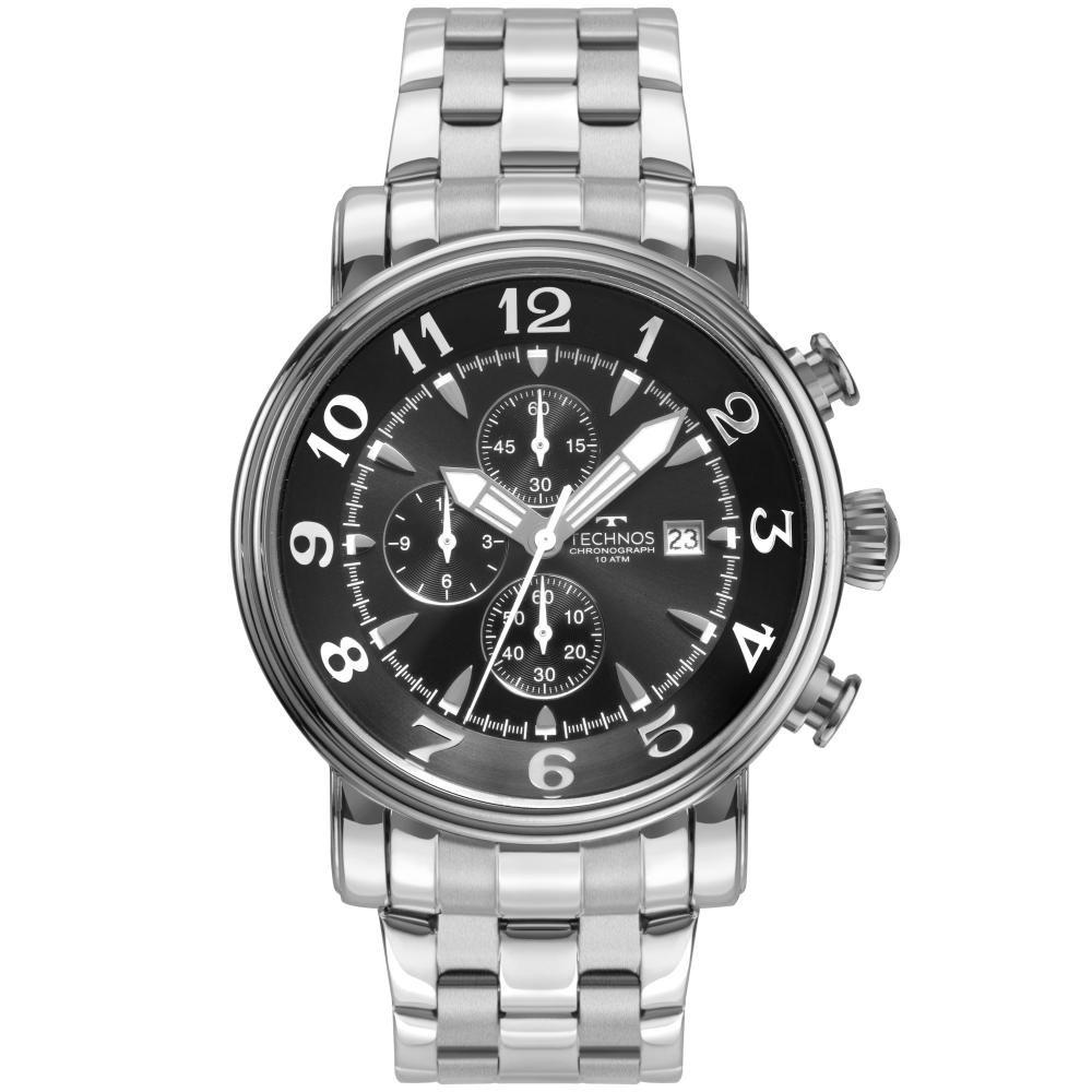 Relógio Masculino Technos Grandtech OS10CS/1M 44mm Aço Prata