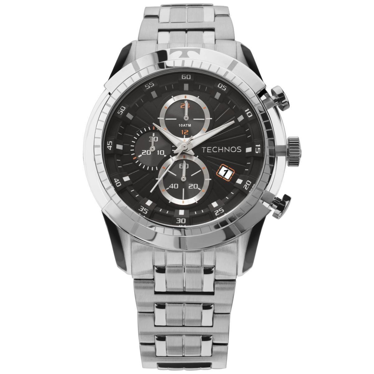 Relógio Masculino Technos JS15EO/1P Vitra Prata