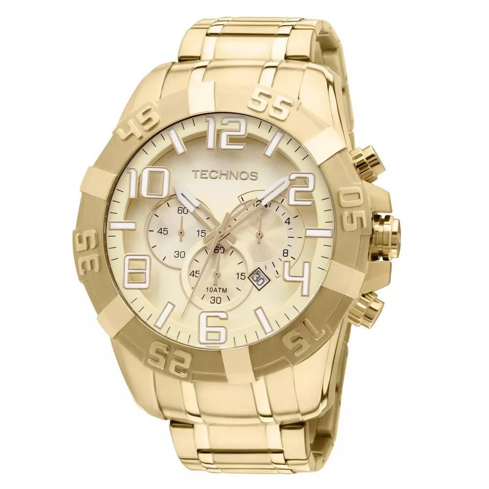 Relógio Masculino Technos Legacy OS20IK/4X 55mm Dourado