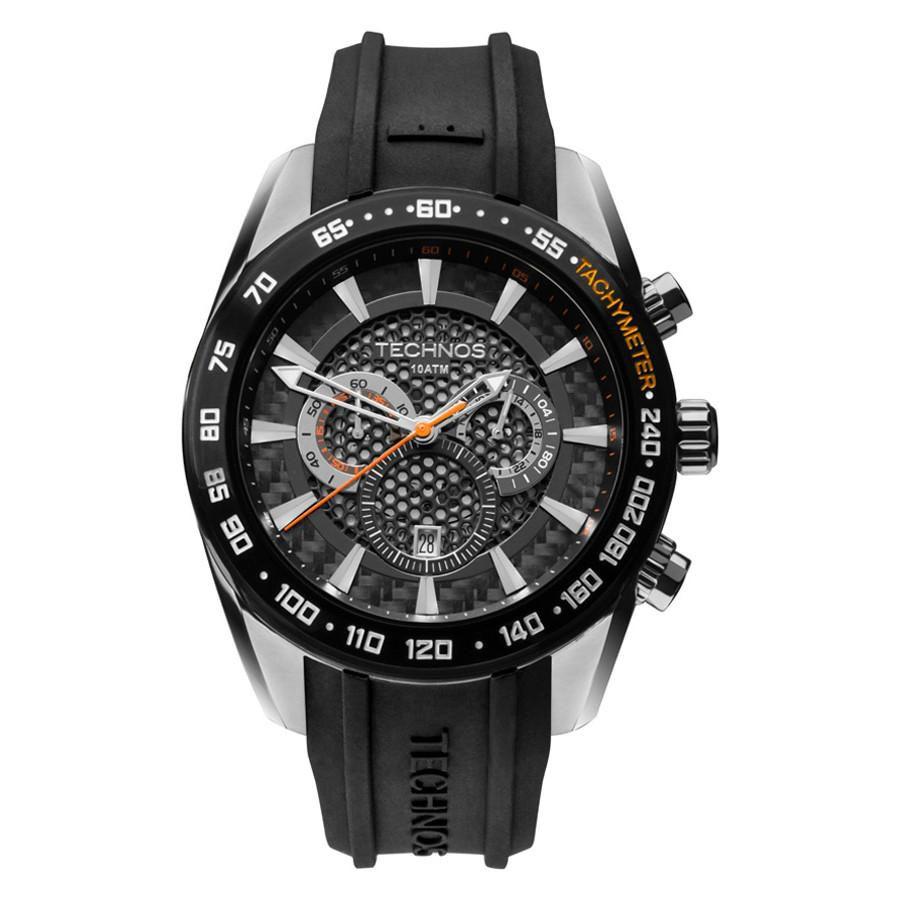 Relógio Masculino Technos OS20HM 8P Carbon Pulseira Borracha - Vitrino  Relógios 5c51606b48