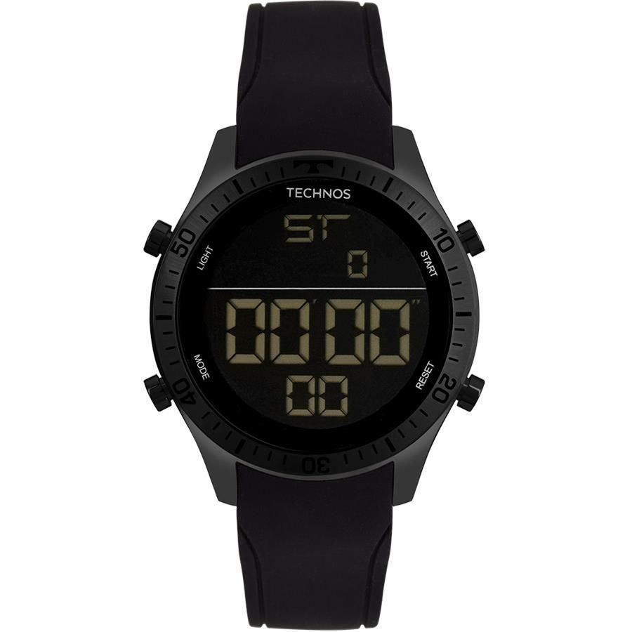 Relógio Masculino Technos Performance Racer T02139AE/4F 46mm Silicone Preto
