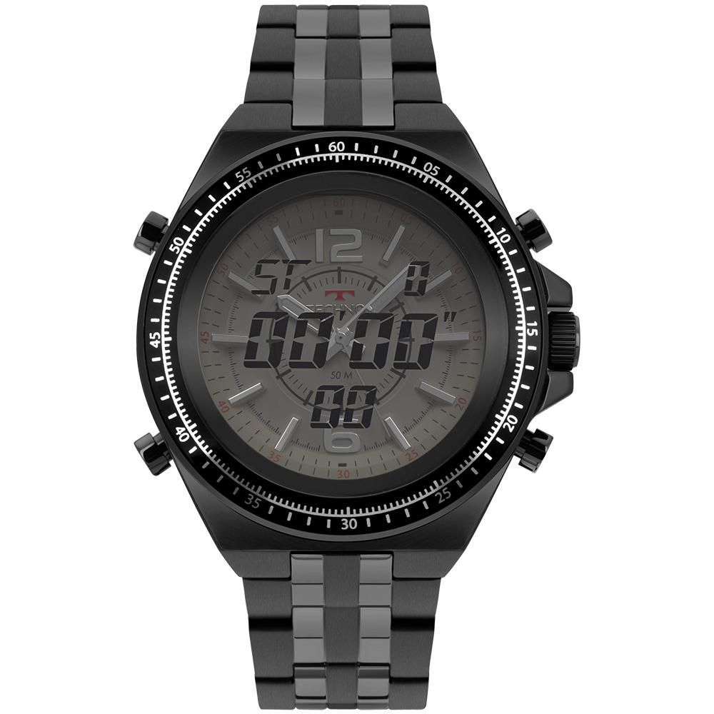 Relógio Masculino Technos Performance TS 2035MSC/4B 48mm Aço Preto
