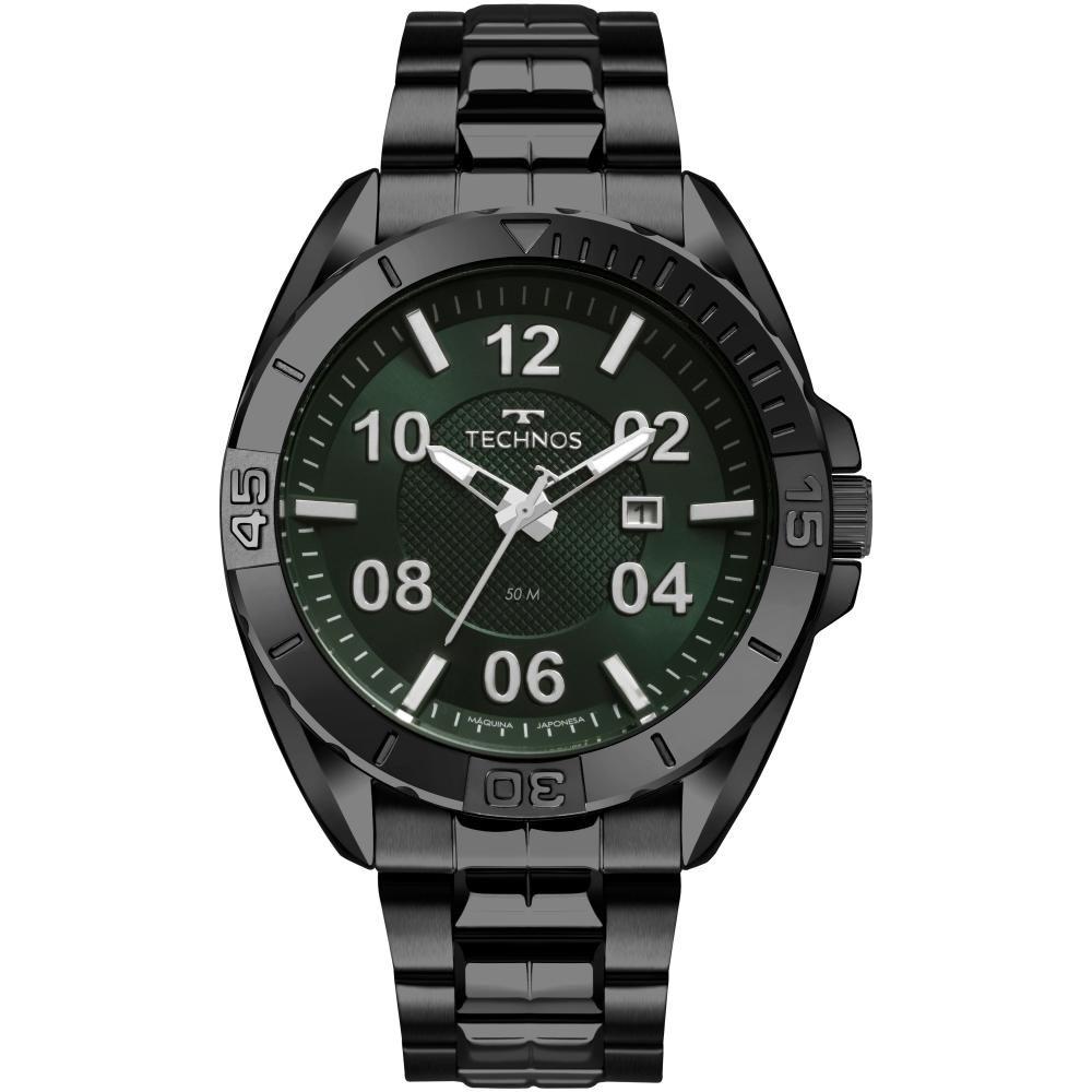 Relógio Masculino Technos Racer 2117LBZ/4V 47mm Aço Grafite