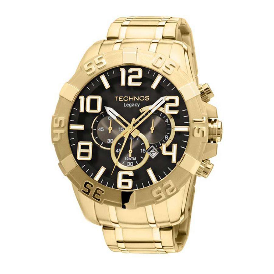 010c36f5522 Relógio Technos Masculino Classic Legacy OS20IM 4P Dourado