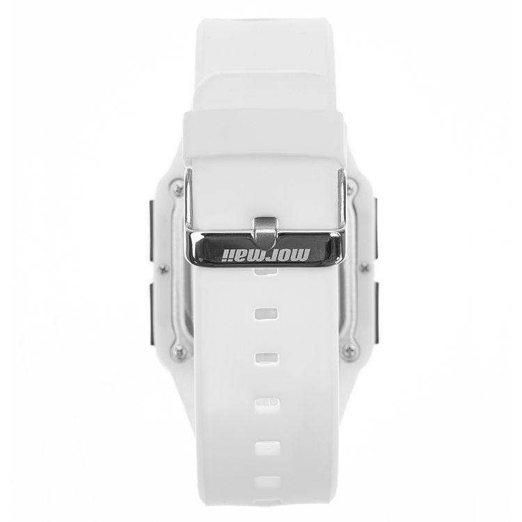 Relógio Unissex Mormaii Action MO0719AB/8W 39mm Silicone Branco