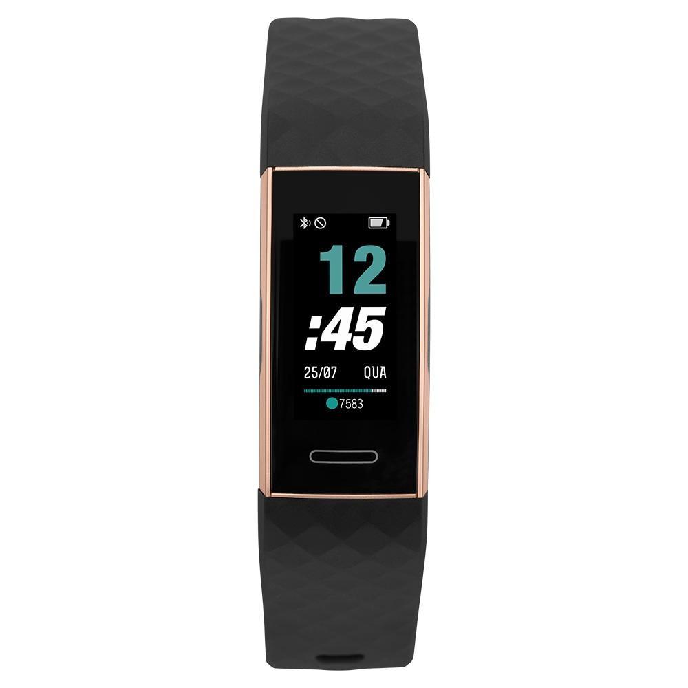 Relógio Unissex Mormaii Smart MOID151AB8J 20mm Borracha Preta