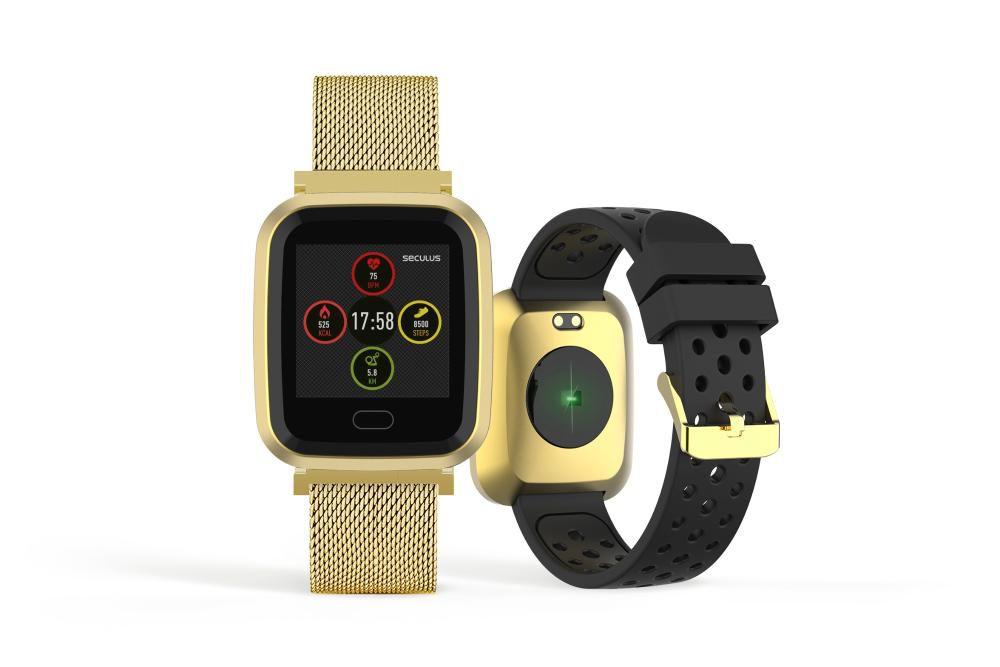 Relógio Unissex Seculus Smartwatch 79006MPSVDE1 36mm Aço Dourado