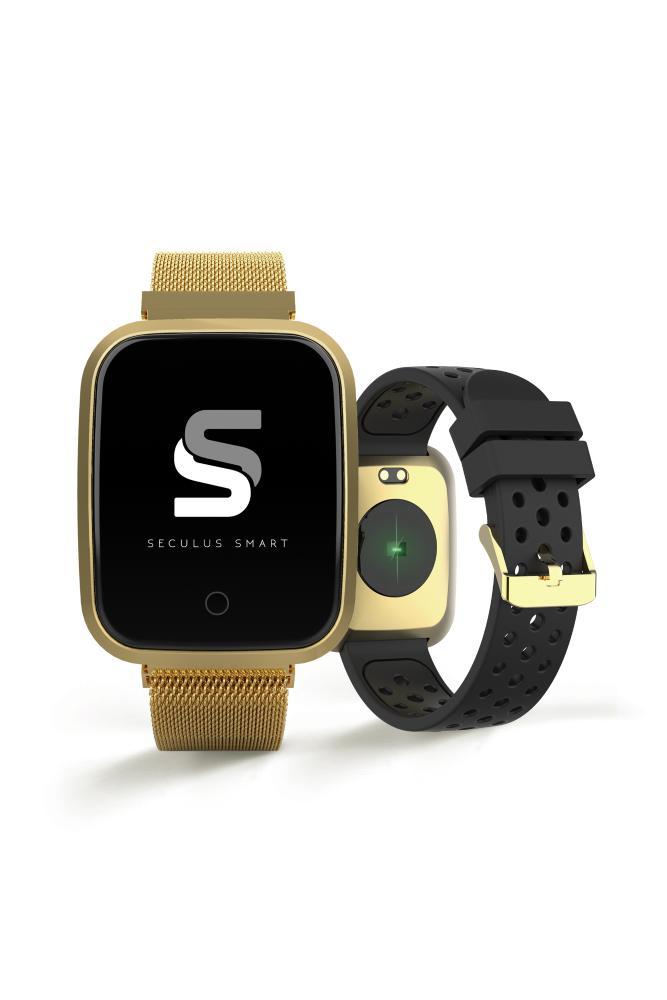 Relógio Unissex Seculus Smartwatch 79006MPSVDE4 36mm Aço Dourado