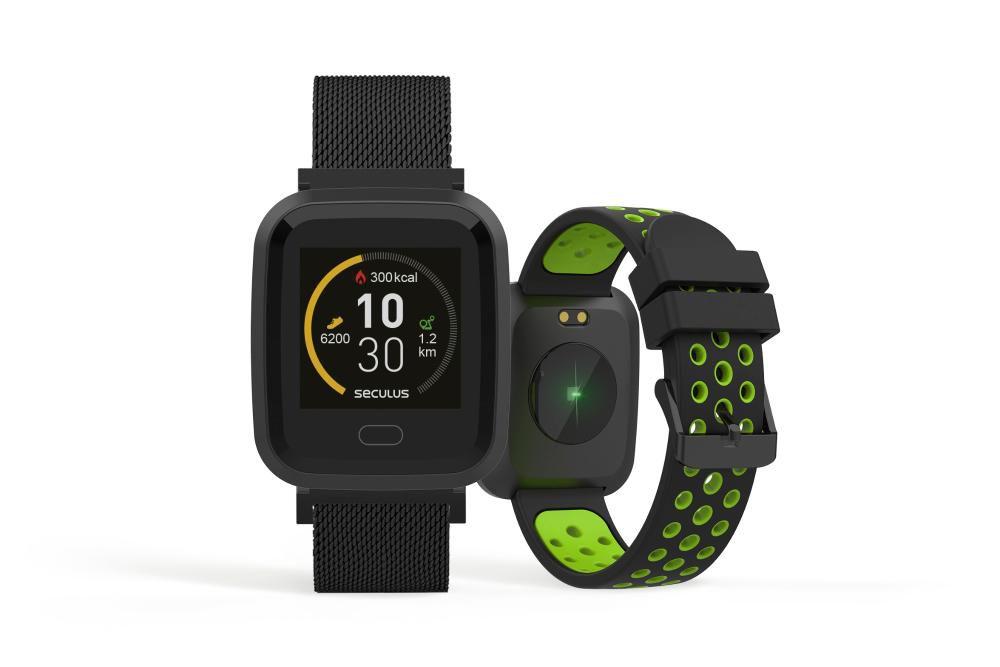 Relógio Unissex Seculus Smartwatch 79006MPSVPE2 36mm Aço Preto