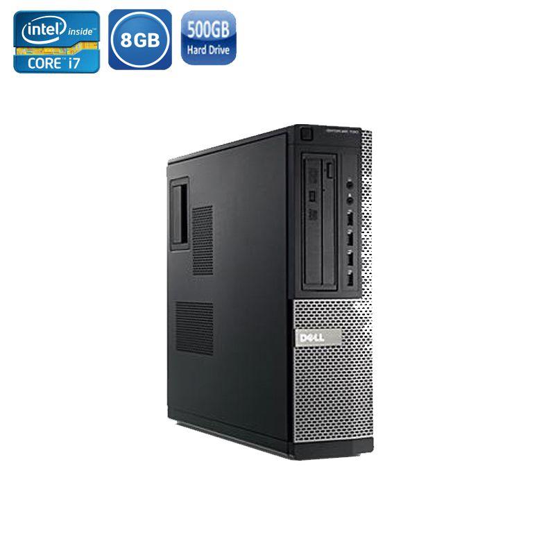 Computador Dell 790 Optiplex Sff Core I7 3 40ghz 8gb Hd500gb