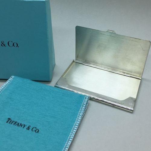 Porta Cartão Tiffany Em Prata 925