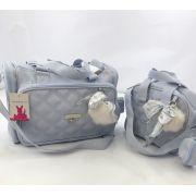 Bolsa Anne e bolsa térmica Organizadora Soldadinho azul Masterbag - 2 peças