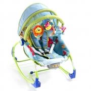 Bouncer Safety 1st Sunshine Baby Com Sistema Vibratório - Até 18kg - Azul/Verde