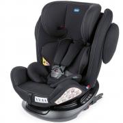 Cadeira Auto Chicco gira 360° com Isofix Unico Plus Black 0 a 36kg
