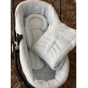 Capa para moises, bebe conforto e almofada redutora