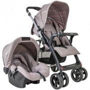 Carrinho Bebê Travel System Kiddo Zap + bebê conforto capuccino