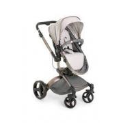 Carrinho de bebê Galzerano Dzieco Vulkan de passeio cinza com chassi cobre Novo