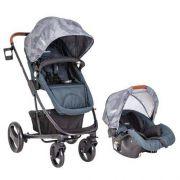 Carrinho de Bebê Travel System Kiddo Nexus Azul Marinho + bebê conforto Cosycot Click