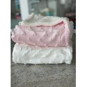 Cobertor de bebe com toque macio