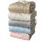 Cobertor de bebe sem alergias